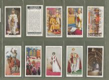 Tobacco cigarette cards The King's Coronation 1937